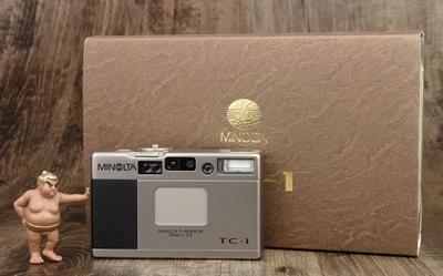 美能达 Minolta TC-1 TC1 后期编号 箱说全 极美品