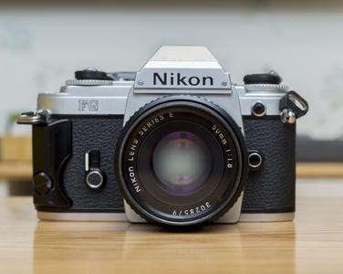 Nikon FG 带50/1.8镜头 不当传家宝 买一送一
