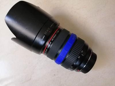 佳能28-70mm2.8镜头只能自动对焦正常使用,修理需要200元