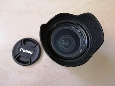 96新佳能24mm2.8带防抖镜头2200元带UV镜