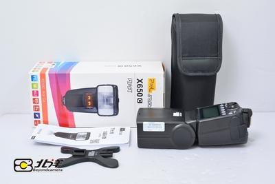 99新 品色 X650C 闪光灯 佳能口 带包装(BH12120003)