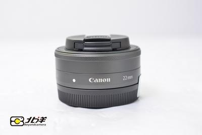97新 佳能 EF-M 22mm f/2.0 STM (BH12130003)