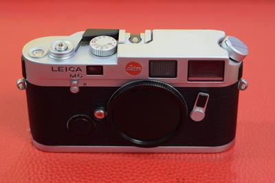 Leica徕卡M6银色小盘旁轴胶片机 莱卡m6银色相机胶片机
