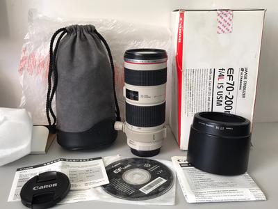 佳能 EF 70-200mm f/4L IS USM 三码合一  天津福润相机店