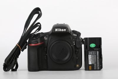 95新二手Nikon尼康 D800 单机 快门4300次 035779京