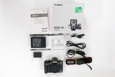 金典优品 98新二手Canon佳能 M5 单机 微单相机  001094成