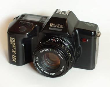 理光2000日期型带标头(送35-70镜头)