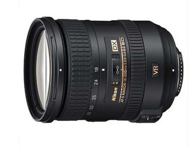 尼康18-200mm f/3.5-5.6G ED VR二代镜头带锁 99新