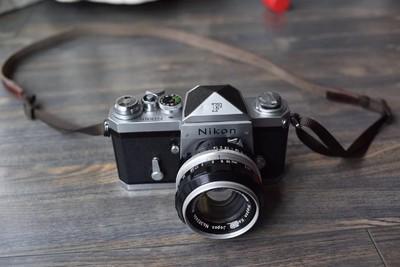 出成色不错的尼康尖顶Nikon 大F,功能正常
