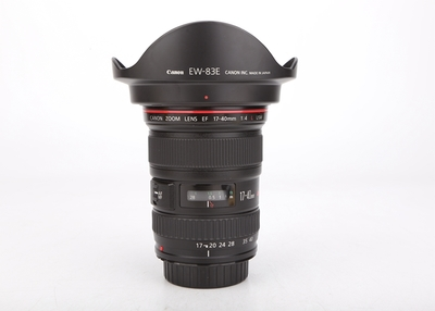 95新二手 Canon佳能 17-40/4 L USM 广角镜头 回收 468308津