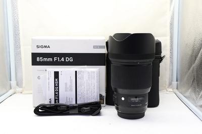97新二手 Sigma适马 85/1.4 DG ART 佳能口 回收 295363深