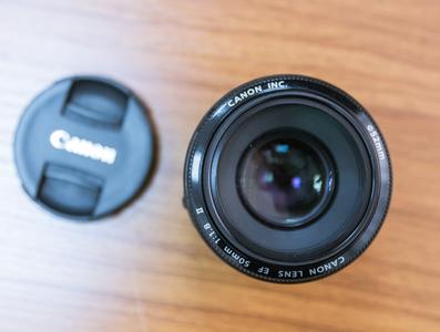 佳能 EF 50mm f/1.8 II 非STM,国行 发票箱说齐全 上海面交