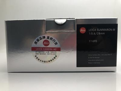 Leica/徕卡 Summaron-M 28mm f/5.6 11695 徕卡M28mm/f5.6 28 5.6