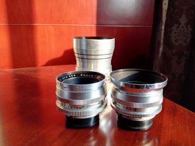 出售施耐德定焦手动镜头,施耐德28mmF4,  50mmF1.9 ,135mmF4.