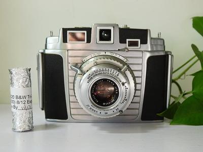 柯达 Kodak Chevron Ektar 78mm f3.5 镜头 66画幅 带一个620胶卷