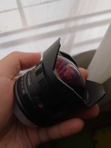 富士微单手动鱼眼广角镜头卫斯理第三代第三代f2.8/8mm
