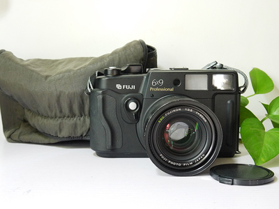 富士GW690 III FUJINON 90 5.6 EBC 镜头 原装背带 相机袋