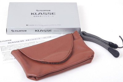 特价富士 棕色皮套 Klasse/W通用 带包装盒#jp20558