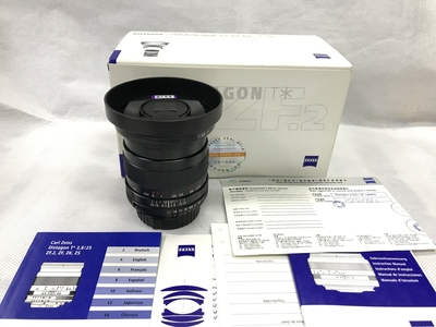 Zeiss/蔡司 T*25mm f/2.8 zf.2 广角手动定焦镜头