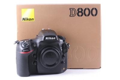 98/尼康 D800 全幅数码机 (全套包装)快门数2024次