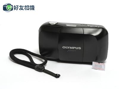 奥林巴斯 Mju 胶片傻瓜相机 带定焦35/3.5镜头 胶片机 黑色