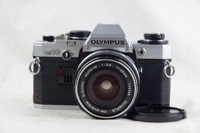 奥林巴斯 OM-10 套机 好成色