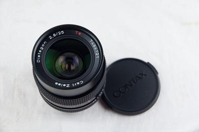 近全新的康泰时D25 2.8 MMJ 镜头