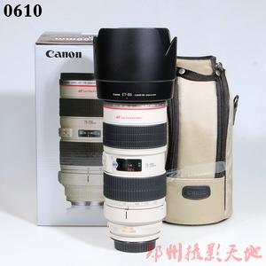 佳能 EF 70-200mm f/2.8L IS USM(小白IS) 单反镜头 0610