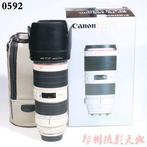 佳能 EF 70-200mm f/2.8L IS II USM 长焦镜头 0592