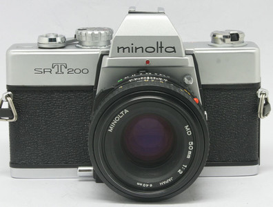 95新 Minolta SR-T 200+50/2(3150)