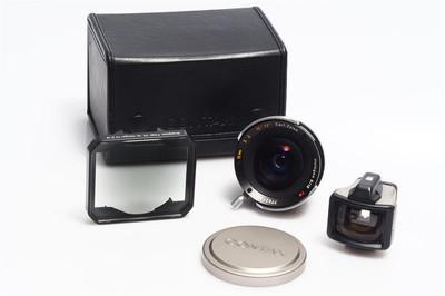 康泰时 Contax G 16/8 Hologon T* 带取景器 中灰镜 皮盒