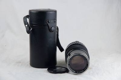 近新的奥林巴斯OM75-150 F4 带皮桶