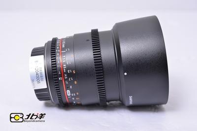 98新 三阳 85mm T1.5 II 佳能口(BH12040008)