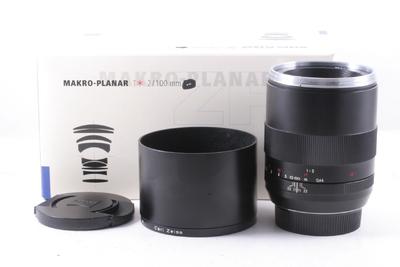 蔡司Makro-Planar T* 100/2 带电子触点 微距 带包装(佳能口)