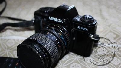 美能达Minolta X-300s+美能达28-70+威达28-210