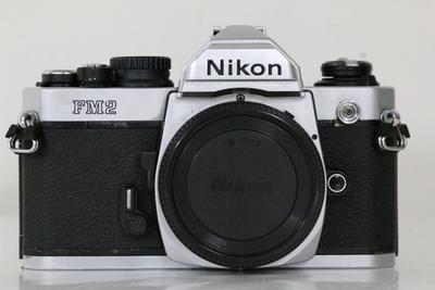 93新二手Nikon尼康 FM2 胶片机铝帘 高价回收 855149成