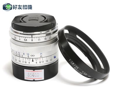 Zeiss/蔡司 Biogon 28/2.8 ZM 28mm 广角镜头 银色徕卡口 *99新*