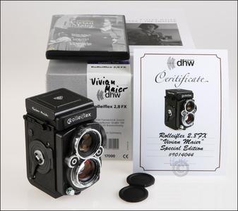全球仅一台!禄莱 Rolleiflex 2.8FX Vivian Maier 摄影师纪念版