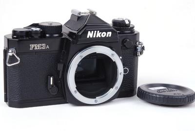 【美品】Nikon/尼康 FM3A 黑色机身#jp21159