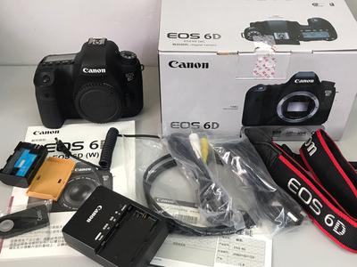 98新 全套包装附件佳能EOS 6D相机机身 【天津福润相机店】