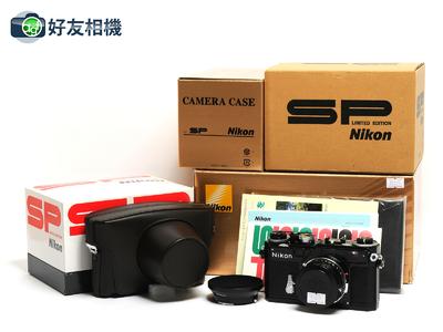 尼康 SP 2005黑漆复刻纪念版 连3.5cm F/1.8 镜头 *98新连盒*