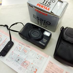 Pentax/宾得 espio 115 胶片机135胶卷ps相机水原希子同款大全套