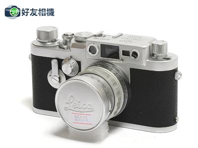 徕卡 IIIG 135旁轴相机 带稀有Summicron M 50/2 螺口镜头 *98新*