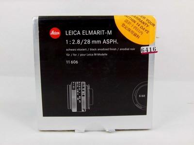 华瑞摄影器材-徕卡Leica Elmarit-M 28/2.8 Asph