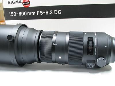 适马 AF 150-600mm f/5-6.3 S版 原包装行货98新佳能口