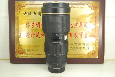 尼康口 腾龙 70-200 F2.8 A001 小龙炮 单反镜头 专业恒圈长焦