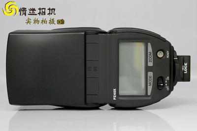 日本新霸 Sunpak PZ40X 闪光灯  索尼 a100(NO:0308)