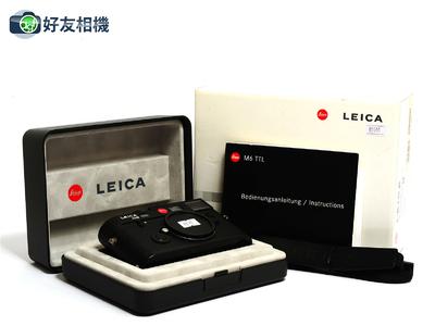 徕卡 M6 TTL 大盘 0.85取景器 旁轴相机 #10436 黑色 *99新连盒*