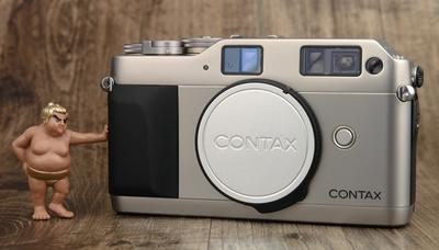 CONTAX G1 白标 胶片 自动对焦 旁轴 美品