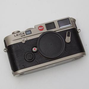 Leica徕卡 M6 鸵鸟皮钛漆版 135胶卷全画幅旁轴相机 95新 NO:0190